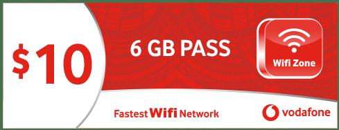 $10 - 6GB PASS