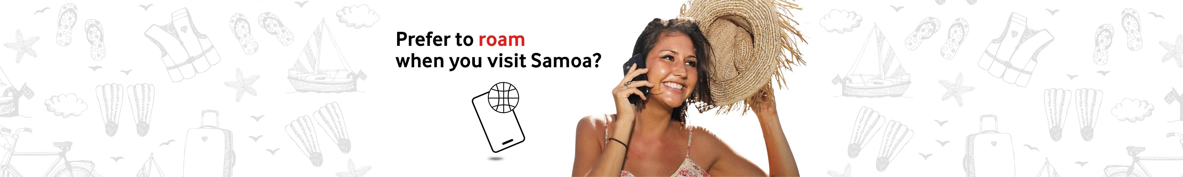 Roam(Visit Samoa) Banner