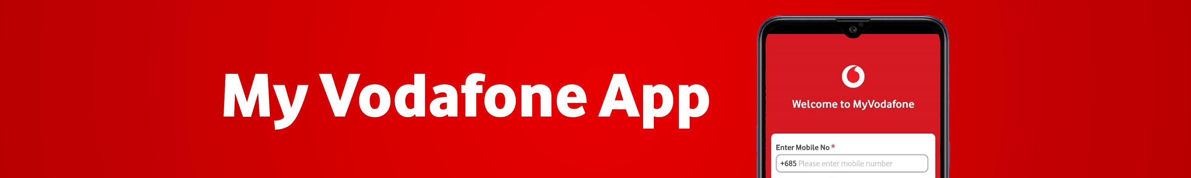 Website Banner - My Vodafone