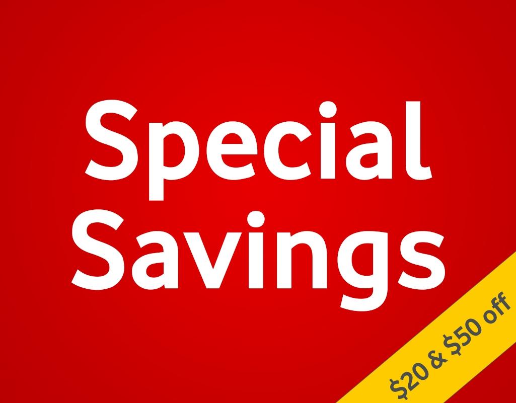 Special Savings Square